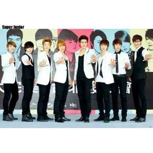 Super Junior colorful Warholesque POSTER 34 x 23.5 Superjunior SuJu