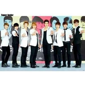 Super Junior colorful Warholesque POSTER 34 x 23.5 Superjunior SuJu
