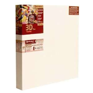 Masterpiece Artist Canvas 3D Pro 2 1/2 Inch Acrylic Primed
