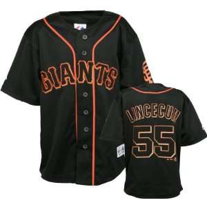 Tim Lincecum San Francisco Giants #55 Black Youth Player