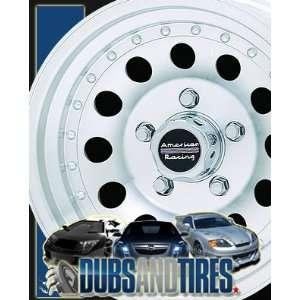 14 Inch 14x7 AMERICAN RACING PERFORM wheels OUTLAW II