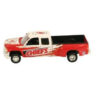 Kansas City Chiefs Diecast Chevy Silverado Pickup Truck (1