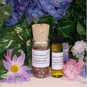Magical Power Incense and Oil Kit