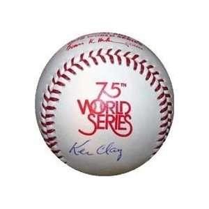 Autographed/Hand Signed 1978 World Series Baseball