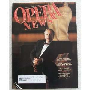 Opera News Magazine. March 8, 1997. Single Issue Magazine