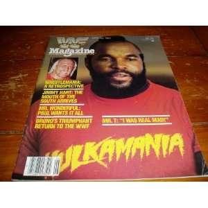 Federation Magazine June/July 1985 Issue: World Wrestling Federation