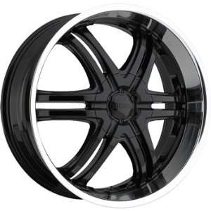 Boss 331 20x8.5 Black Wheel / Rim 5x115 with a 14mm Offset and a 82.80