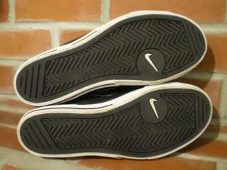 sz 8 Nike Capri SI Low Top shoes black leather vulc sb p rod dunk
