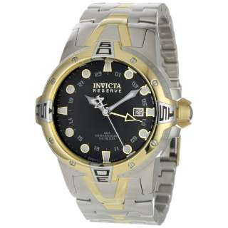 Reserve Sea Excursion GMT Two Tone Stainless Steel Watch 0649 NEW