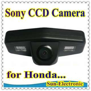 SONY CCD Rear View Reverse Parking CAMERA for Honda Accord Pilot Civic