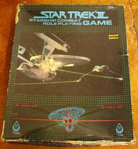 Starship Combat Role Playing Game Second Edition   Incomplete