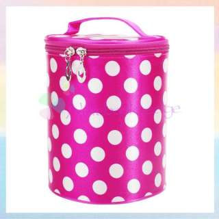 Dots Zebras Leopards Make Up Case Cosmetic Bag Train Luggage Toiletry
