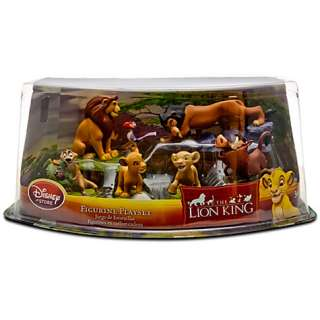 THE LION KING SIMBA NALA FIGURE PLAY SET CAKE TOPPER SET