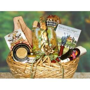 There Is Nothing Like Home Gourmet Gift Basket and Greeting Card