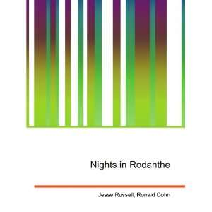 Nights in Rodanthe Ronald Cohn Jesse Russell Books
