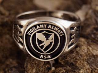 Army Security Agency ring ASA Vigilant Always