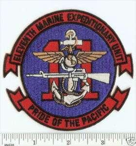 USMC 11th MEU Marine Expeditionary Unit PATCH Pride