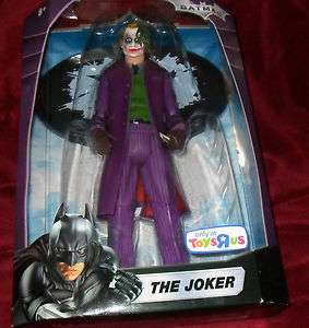 Dark Knight, The Joker, Heath Ledger 12 Inch figure, DC Comics
