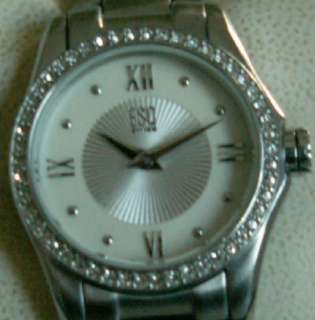 USED ESQ SWISS 07101272 Ladies Watch ES 10.3.14.5501Stainless Steel