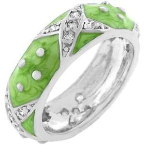 Light Green Boogie Down Enamel Ring (size 09) Everything