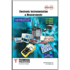 Instrumentation & Measurements (9789350380475): U.A. Bakshi: Books