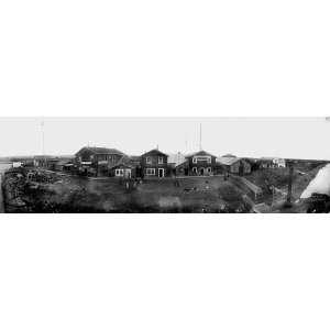 NOME ALASKA MAIN STREET PANORAMA 1899