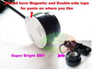 Magnetic White High Power LED Tail Reverse Lamp Back Up Dome Light