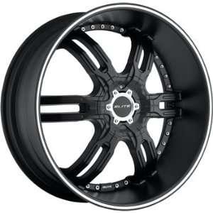 Elite Carnal 20x8.5 Flat Black Wheel / Rim 6x5 & 6x5.5 with a 30mm