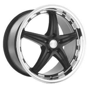 19x9.5 Privat Profil (Gloss Black w/ Machined Lip) Wheels