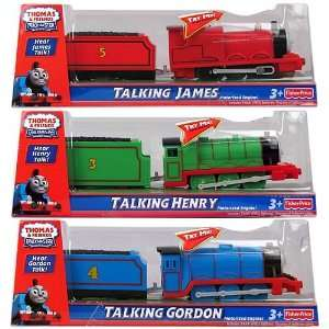 Thomas and Friends Talking Motorized Engines Case: Toys