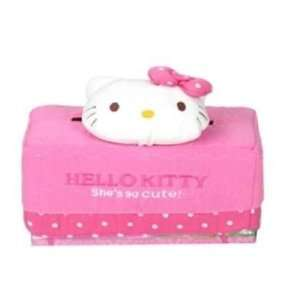 Hello Kitty Tissue Box (Face with Pink Dot)