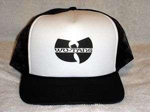 Wu Tang Clan Logo Trucker Hat Classic Hip Hop gza New