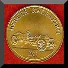 Franklin Mint Antique Car Token 1911 MERCER RACEABOUT