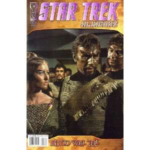 Star Trek Klingons Blood Will Tell (2007) #4 B Books