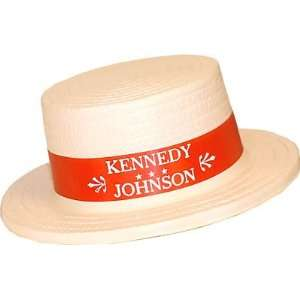 VINTAGE ANTIQUE Hat promoting John Kennedy for president