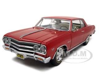 1965 CHEVY CHEVELLE MALIBU Z16 RED 118 EXACT DETAIL