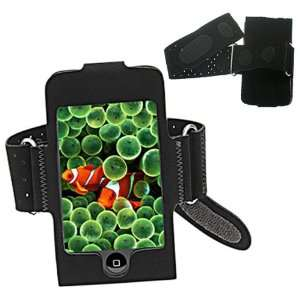 Premium Black Armband Case Cover Pouch For Apple iPod