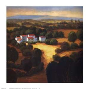 Tuscan Landscape I by Tomasino Napolitano 15x15: Home & Kitchen