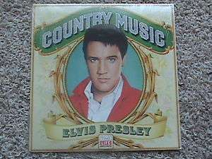 Sealed Elvis Presley LP, Country Music, Time Life,1981