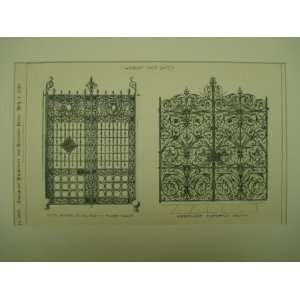 Wrought Iron Gates , Elberfeld, Prussia, EUR Everything