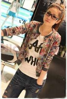 Fashion Sweater Girl Lady Long Sleeve Comic Cartoon Jacket Outerwear 2