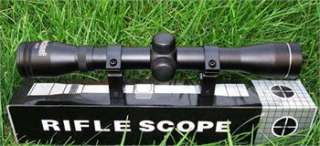 4X32 air rifle gun optics sniper hunting scope sight with mounts