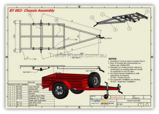 Our box trailer plans are some of the most detailed available. Not