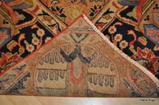10x13 Antique Persian hand knotted rug oriental kasha