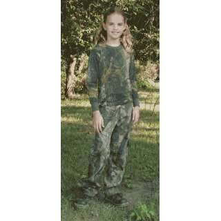 Long Sleeve Camouflage Shirt (S,Realtree Hardwoods)