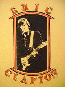 Eric Clapton Cream Yardbirds blues t shirt