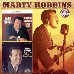 Just a Little Sentimental / Turn Lights Down Low: Marty Robbins: Music