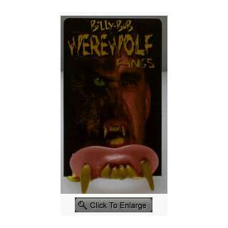 Billy Bob Werewolf Teeth Toys & Games