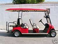 new Extended EZ GO Club car yamaha star par car golf Cart Limo Roof