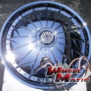 New Davin Dub Spinners On The Grind 26 5x114.3 Chrome Rims Wheels